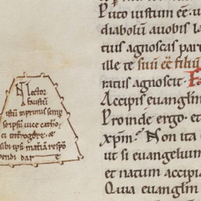 Monasteries, Schools, and Notaries, Part 2: Introduction to the Transitional Gothic Script