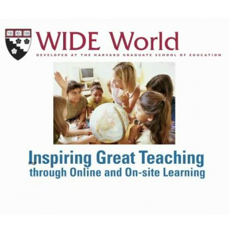 Wide World: Inspiring Great Teaching through Online and On-site learning